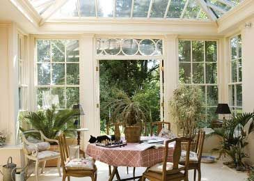 Georgian Style Interior georgian conservatory | cosy english cottage style - orangery