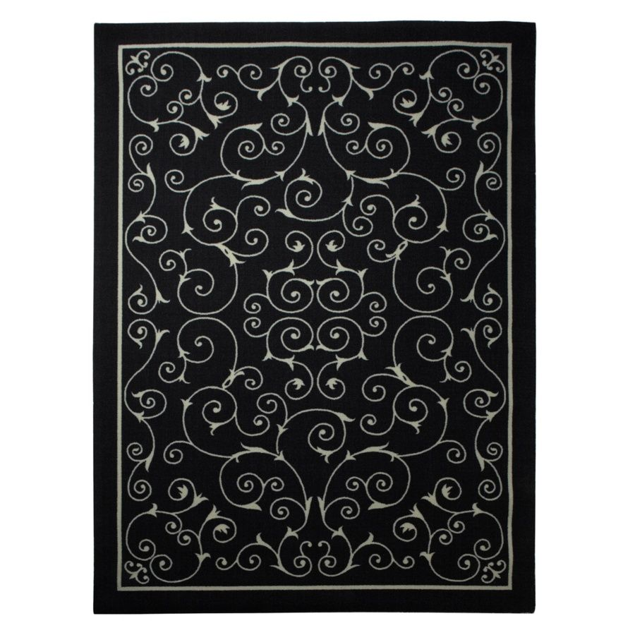 Colin Cowie Indoor Outdoor Scroll Rug 5 3 X 7 5 At Hsn Com