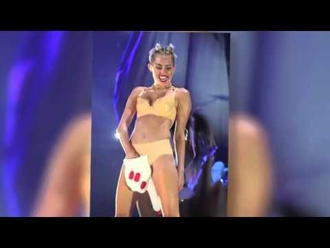 Miley Cyrus Dresses in Child-Like Pajamas