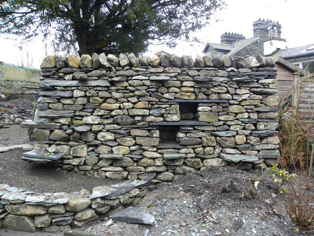 Garden feature dry stone wall google search stone walls garden feature dry stone wall google search workwithnaturefo
