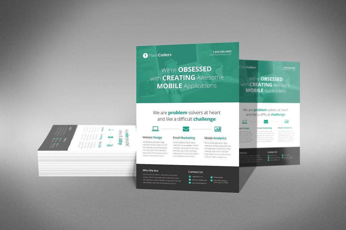 How to design a flyer in photoshop cs5