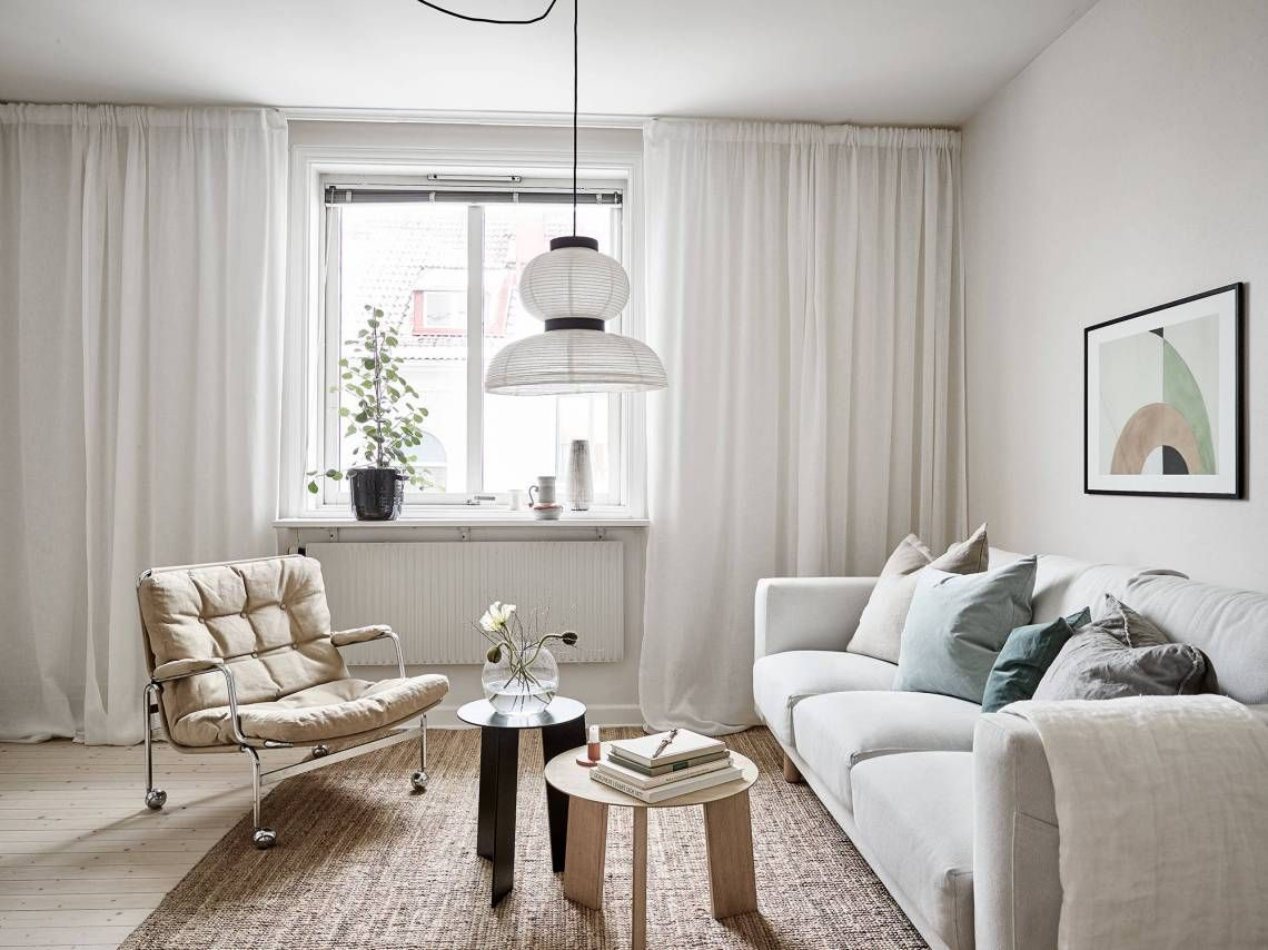 Get the look: Living room in a warm palette