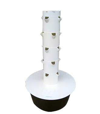 This Is An Empty Aeroponic Tower Garden