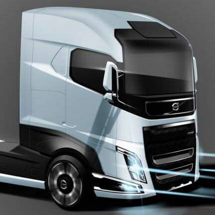 Volvo Fh Volvo Trucks Truck Design Big Rig Trucks