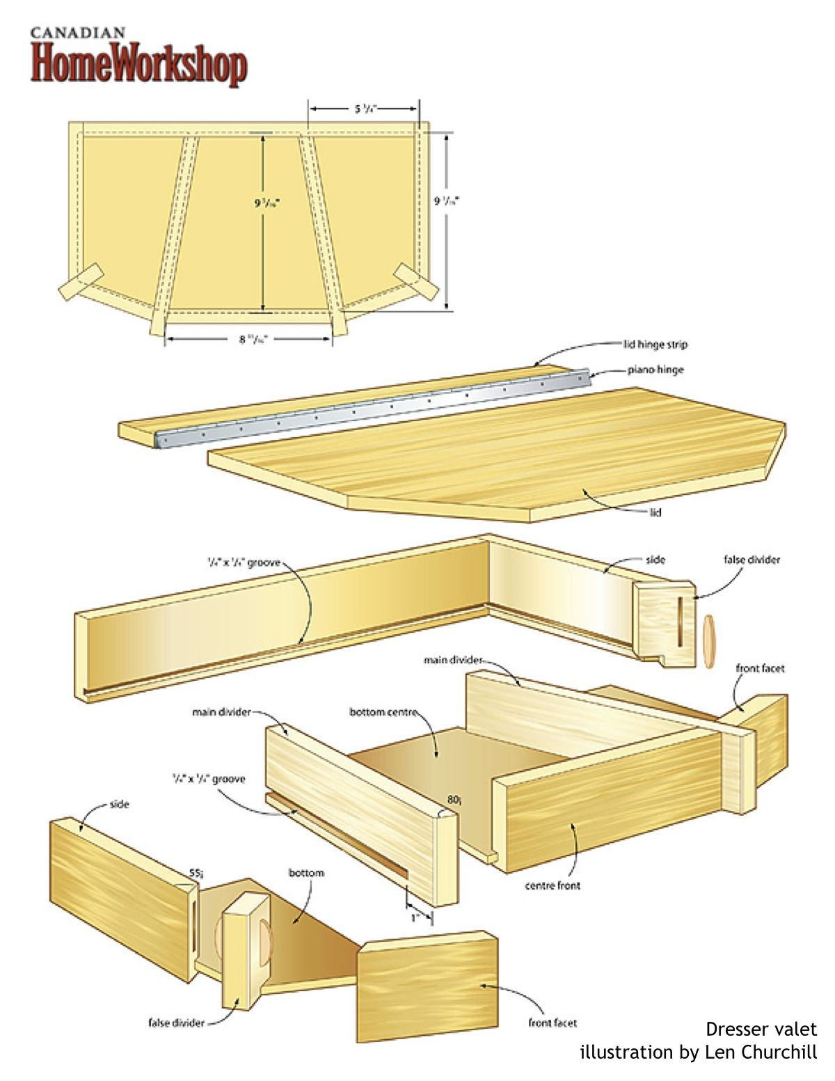 Dresser Valet Plans Build A Beautiful Box That Shows Off Your Woodworking Skills Furniture Pins About Men Bo Hand Picked By Pinner