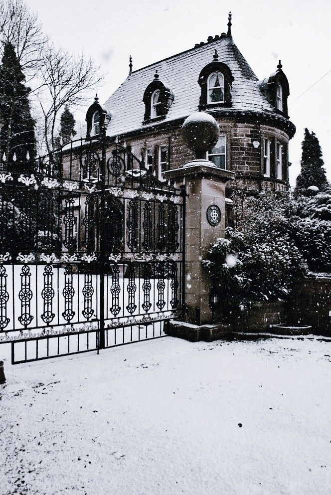 Snow winter home#home #snow #winter