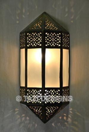 Moorish Sconce Pinnacle Moroccan Lamps Lanterns Moroccan