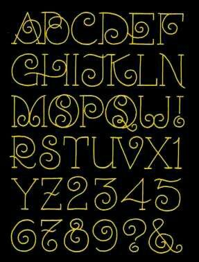 The O Needs One Swirl Or It Will Look Like An S Lettering Styles AlphabetChalkboard