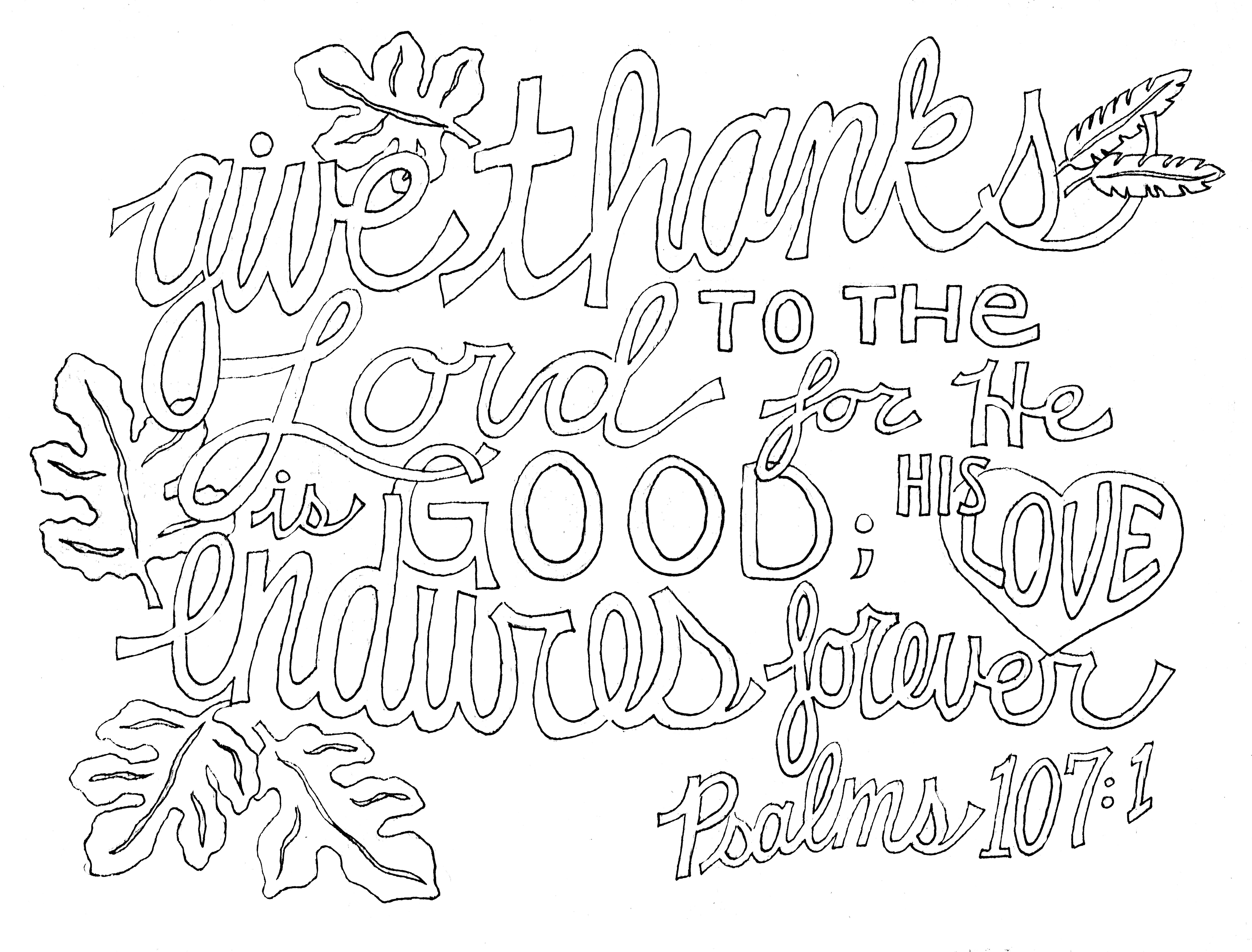 Love the Lord Your God Coloring Page Thousand of the