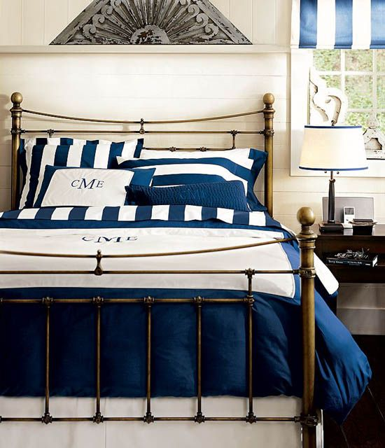 Classic Metal Whitney Bed From Pottery Barn Bed Brass Bed