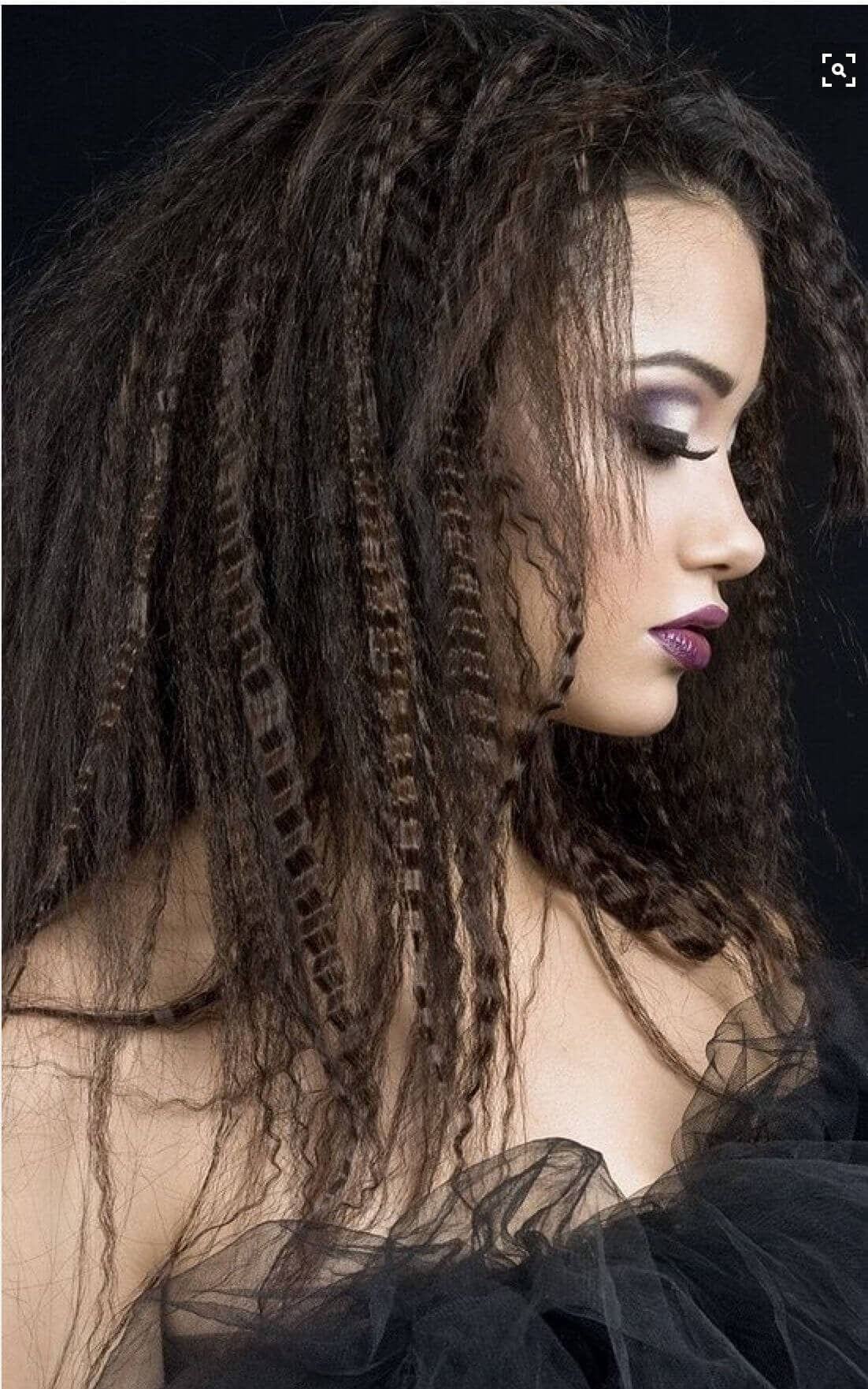 Attractive Crimped Hair Concepts Fashion And Ladies Long Hair Styles Crimped Hair Long Hair Dos