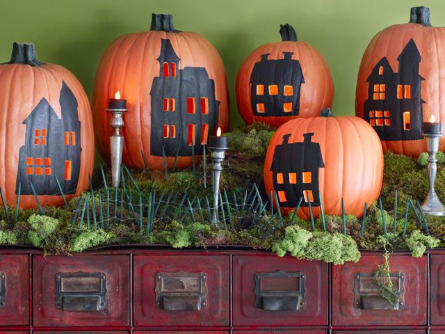 85+ New Ways to Decorate Your Halloween Pumpkins City, Decorating - ways to decorate for halloween