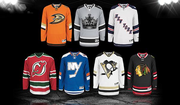 national hockey league jerseys