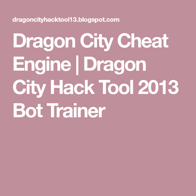 Dragon City Hack Revealed - Free Gems Generator