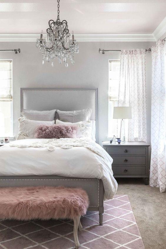 38+ Grey and white decor bedroom ideas