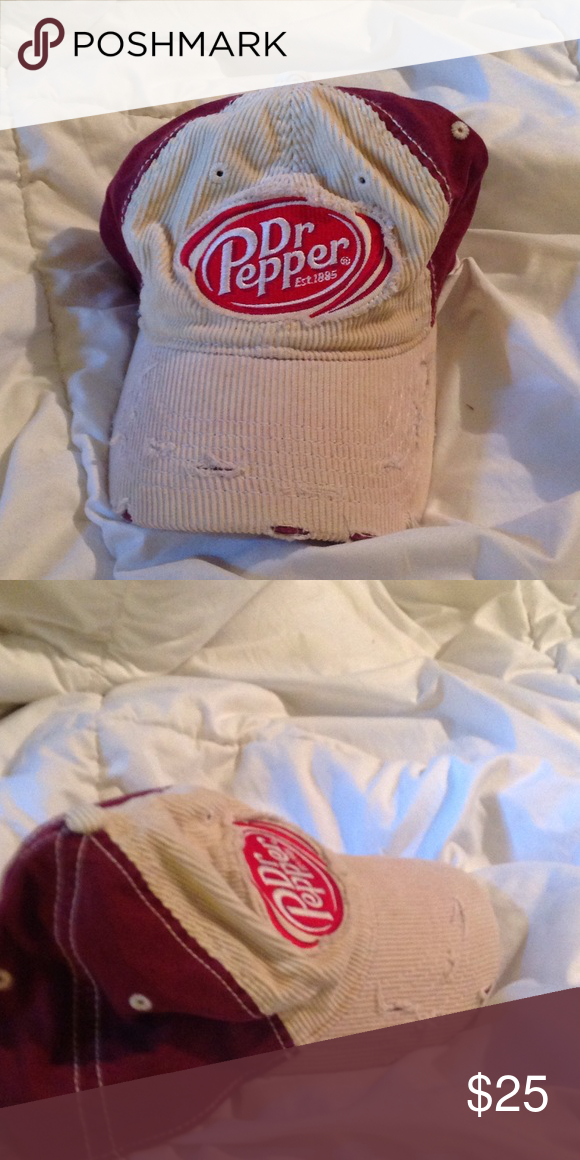 97881f0d767 Dr Pepper vintage ⚾ baseball cap. Fitted size M L Dr. Pepper baseball cap.  Worn once or twice! Collectibles Falcon Accessories Hats