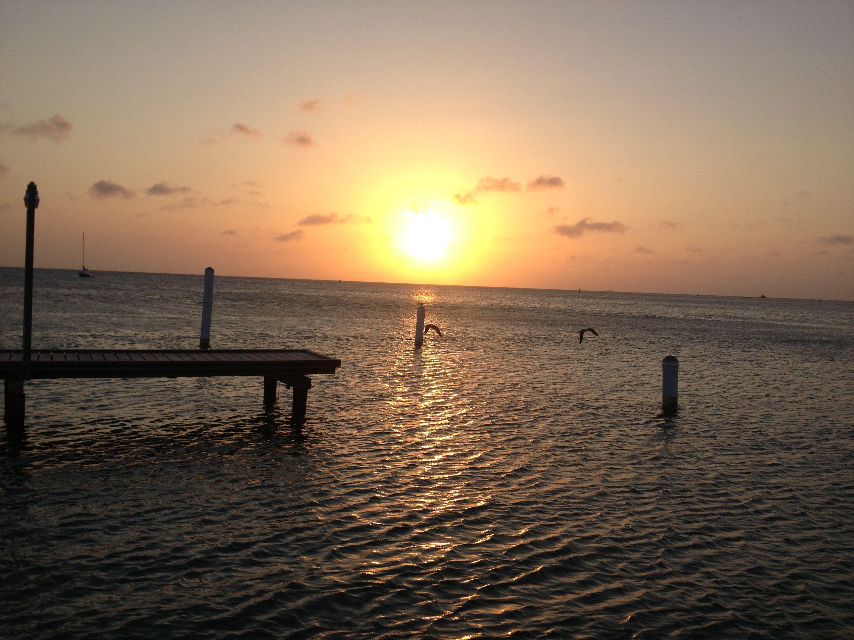 Sunset in Aruba from Pincho's Bar & Grill Sunset, Aruba