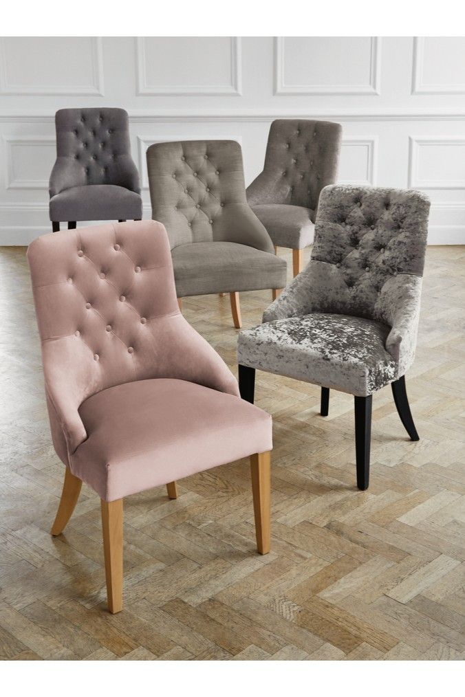 Next Set Of 2 Winchester Dining Chair - Grey | Products