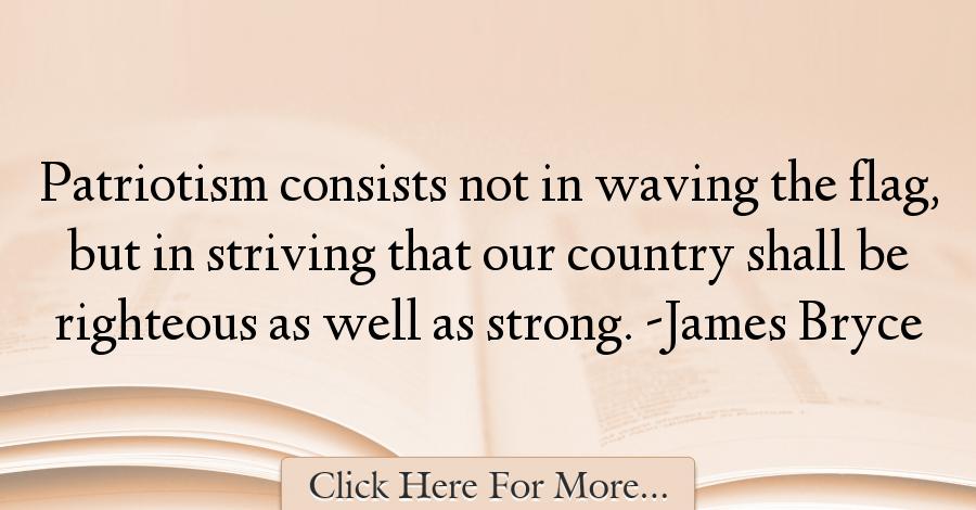 James Bryce Quotes About Patriotism 52669 Patriotic Quotes Patriotic Quotes