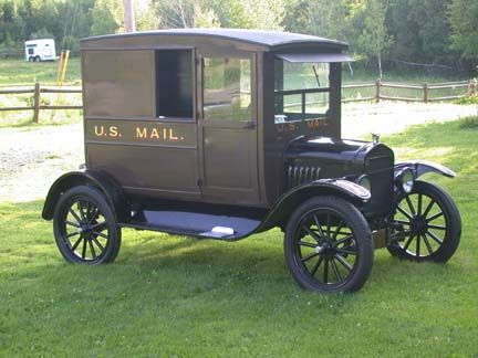 Ford Model T Us Mail Delivery Truck Model T Mail Truck Ford Models