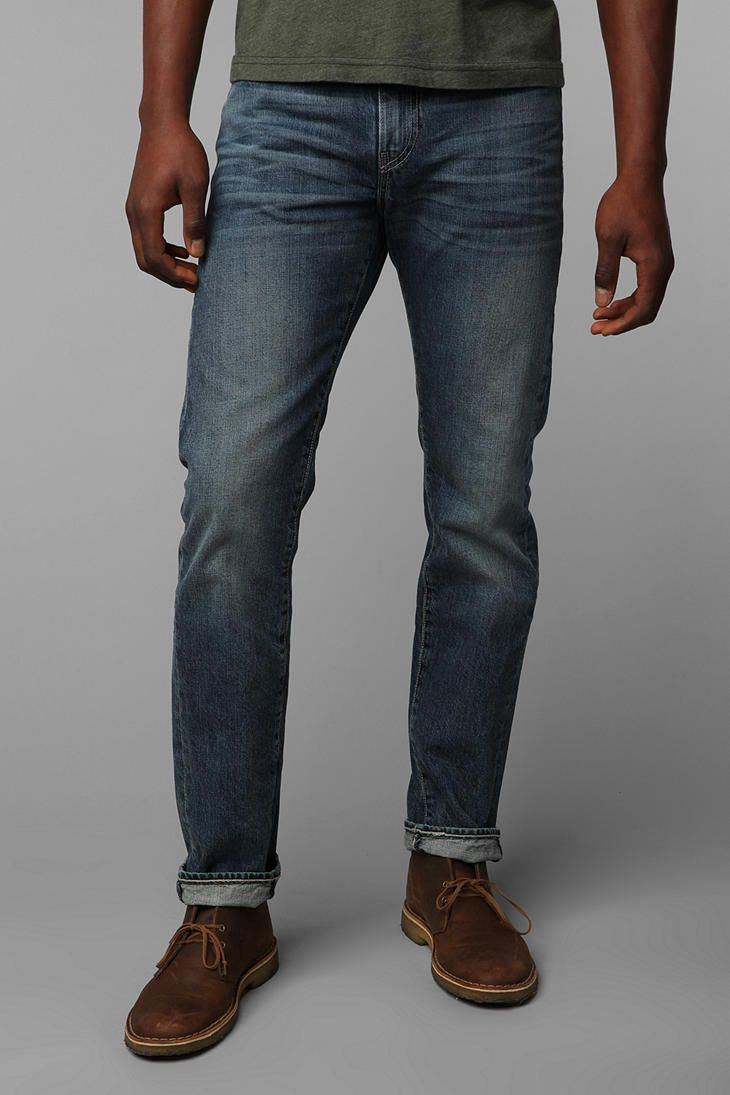 12f06cd2 Levi's 513 Rock Wash Jean | My Style | Shoes with jeans, Men shoes ...