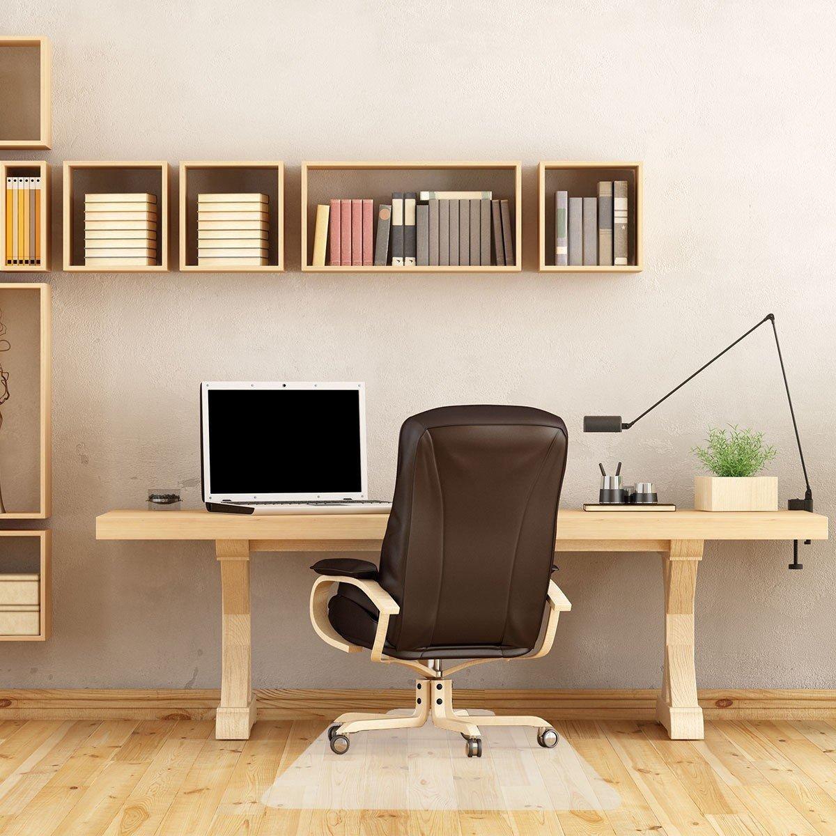 """48"""" X 36"""" PVC Home Office Chair Floor Mat"""