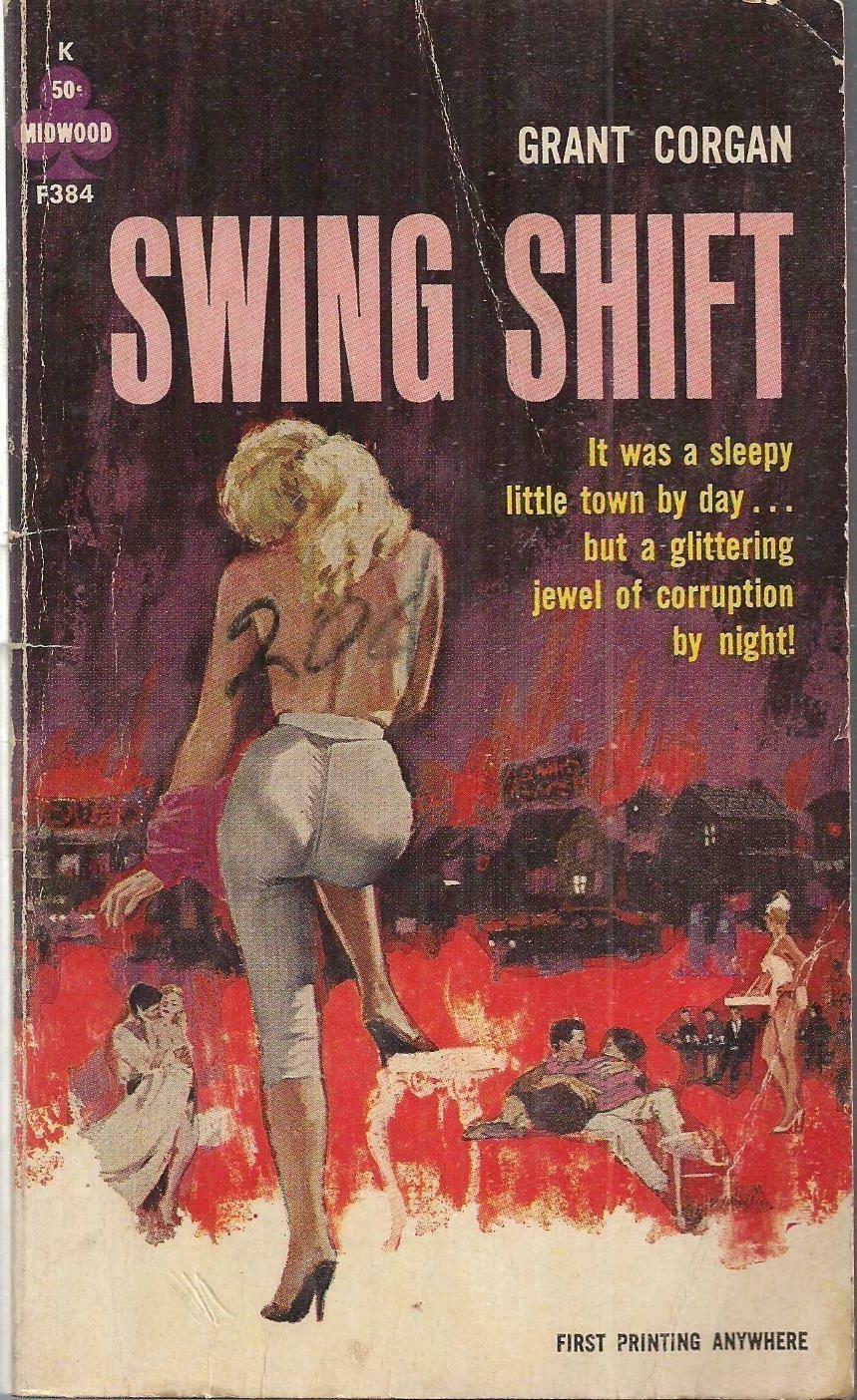 Swing Shift Pulp Art Book Cover Art Pulp Fiction