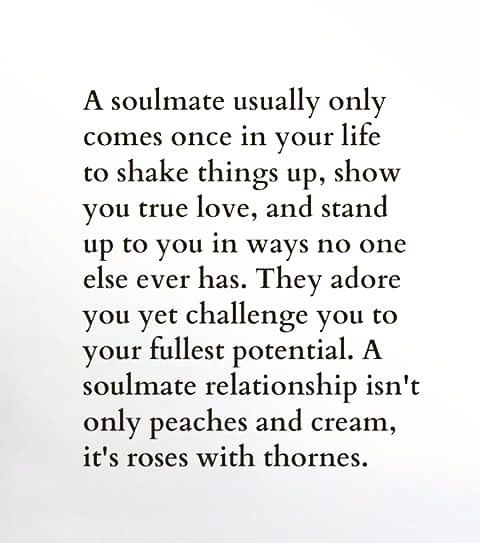 """""""Everyone wants to have their #SoulMate or #TwinSoul but ..."""