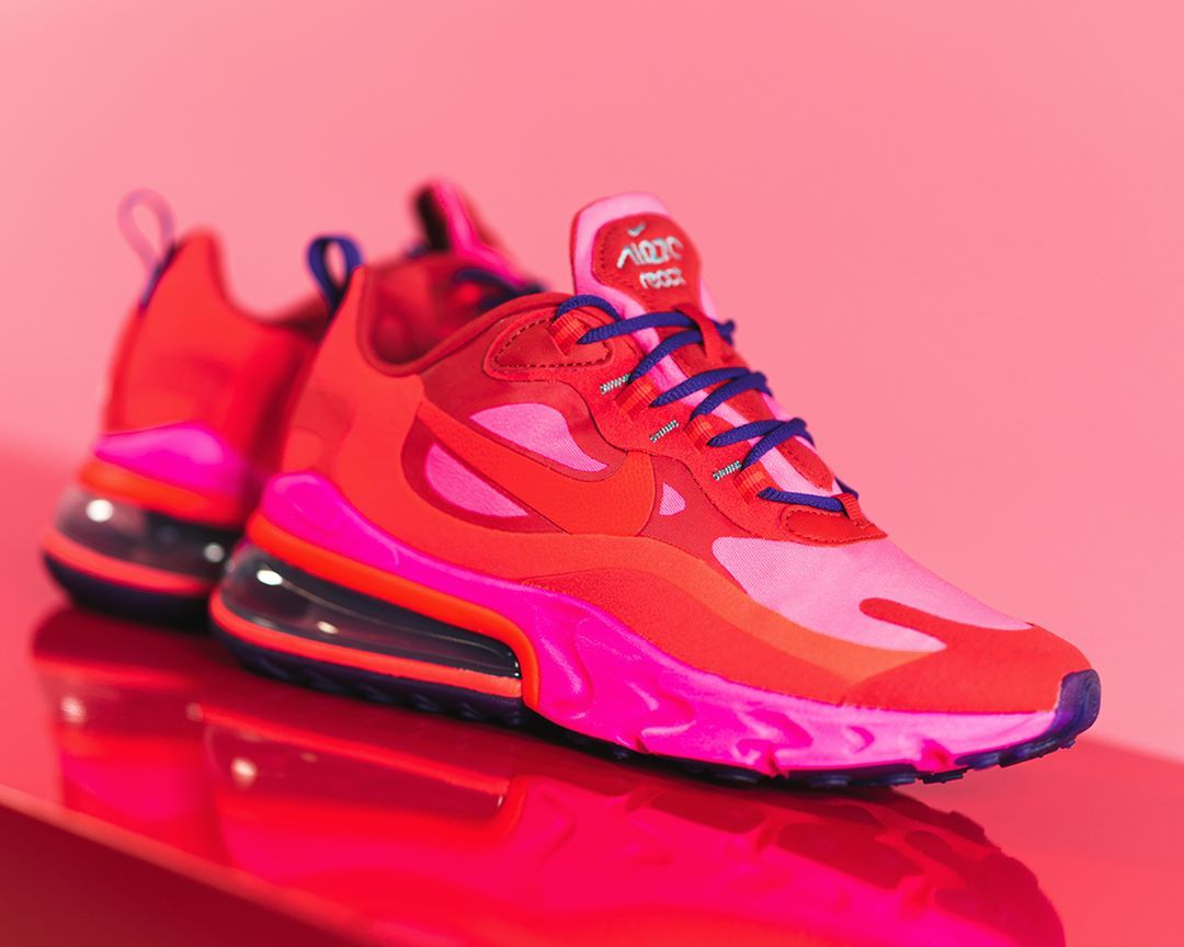 Nike Air Max 270 React In Rot At6174 600 Everysize Sneakers Mode Nike Air Air Max Sneakers