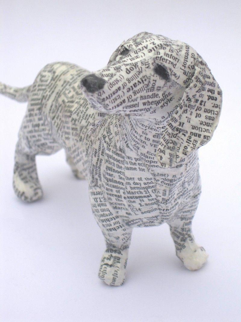 Paper Mache , ook gebruikt bij mijn poort opdracht.