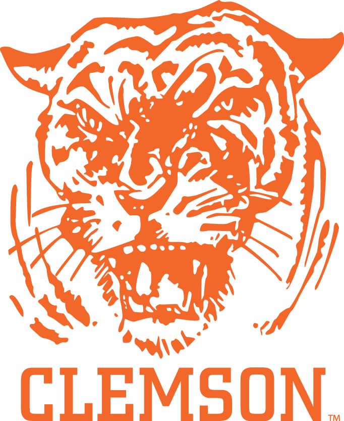 Clemson Tigers Primary Logo 1965 1969 Clemson Clemson Tigers Clemson Tigers Football
