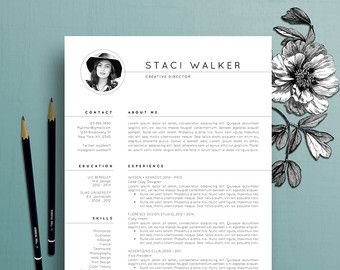 Creative Resume Template Creative Resume Template Cv Template Coverthecreativeresume