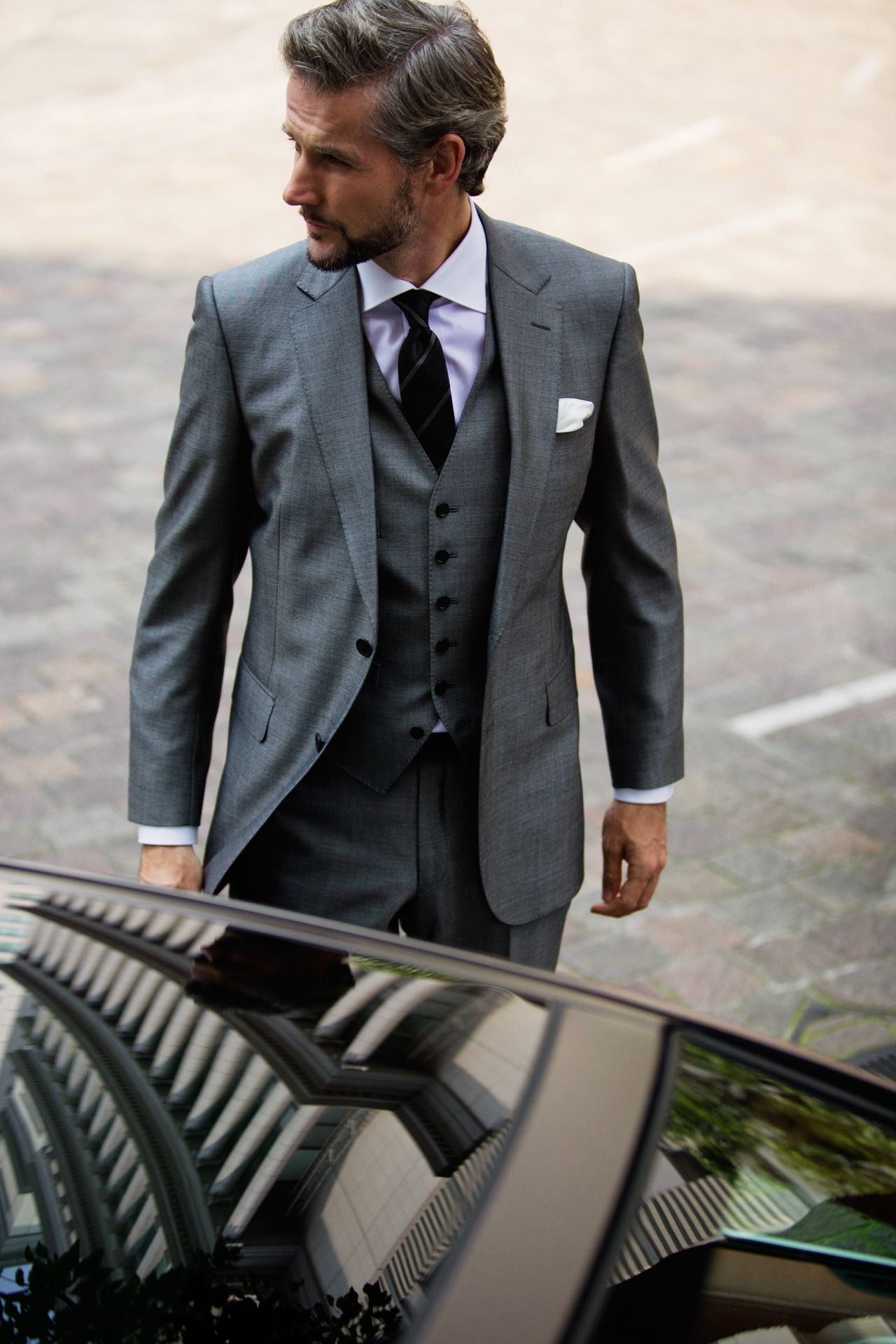 Not sure 3 piece suit is required, but if this is more of your ...
