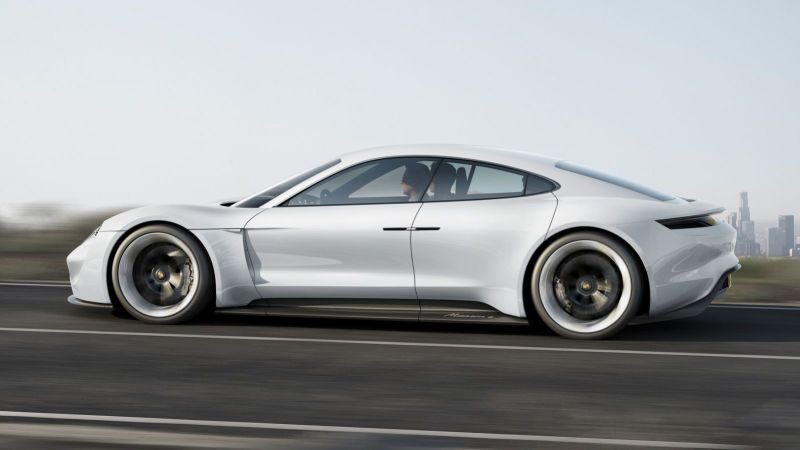 The Porsche Taycan Will Cost Less Than A Panamera To Challenge The Tesla Model S Porsche Mission Mission E Porsche Taycan