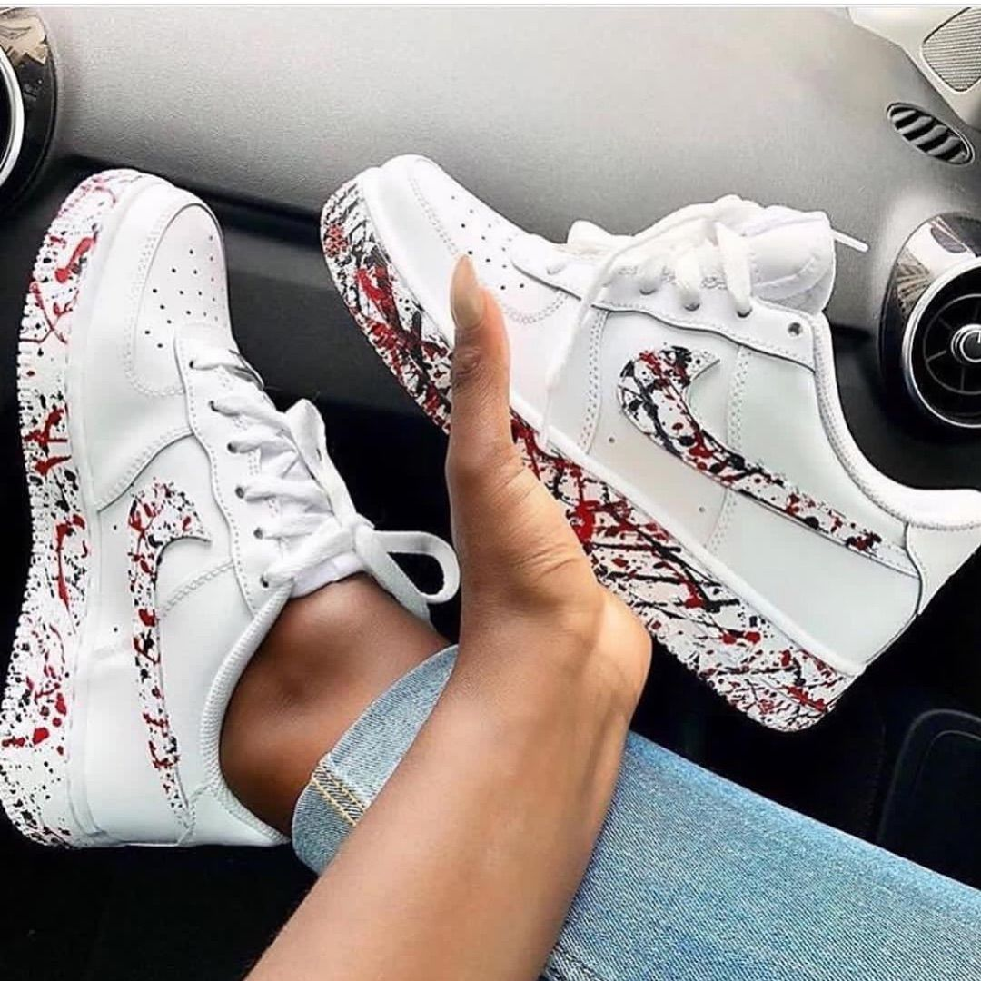 Pin by Samantha on Custom shoes | Nike shoes air force