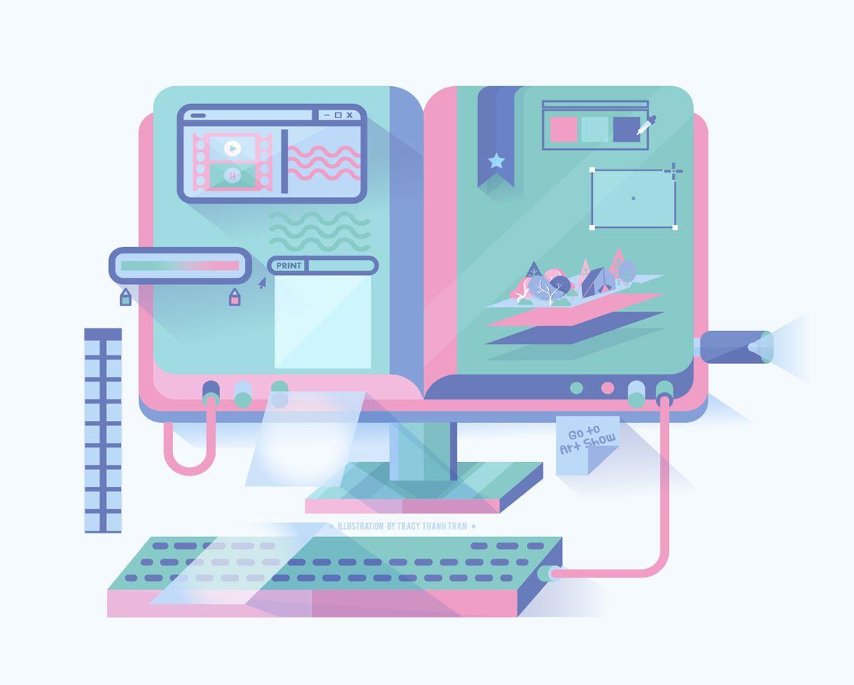 https://www.behance.net/gallery/27274925/My-Design-Process-2015