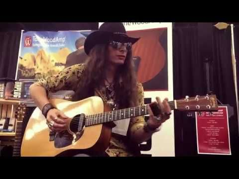 Justin Johnson Solo Acoustic Guitar Tonewood Amp Demo Namm 2017 Youtube Ken Burns Documentaries Roots Music Documentary Film