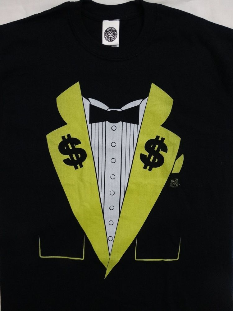 b89d3912b15 Ted Dibiase Million Dollar Man Costume Wrestling WWE Officially Licensed  T-Shirt  WWETedDibiase  GraphicTee