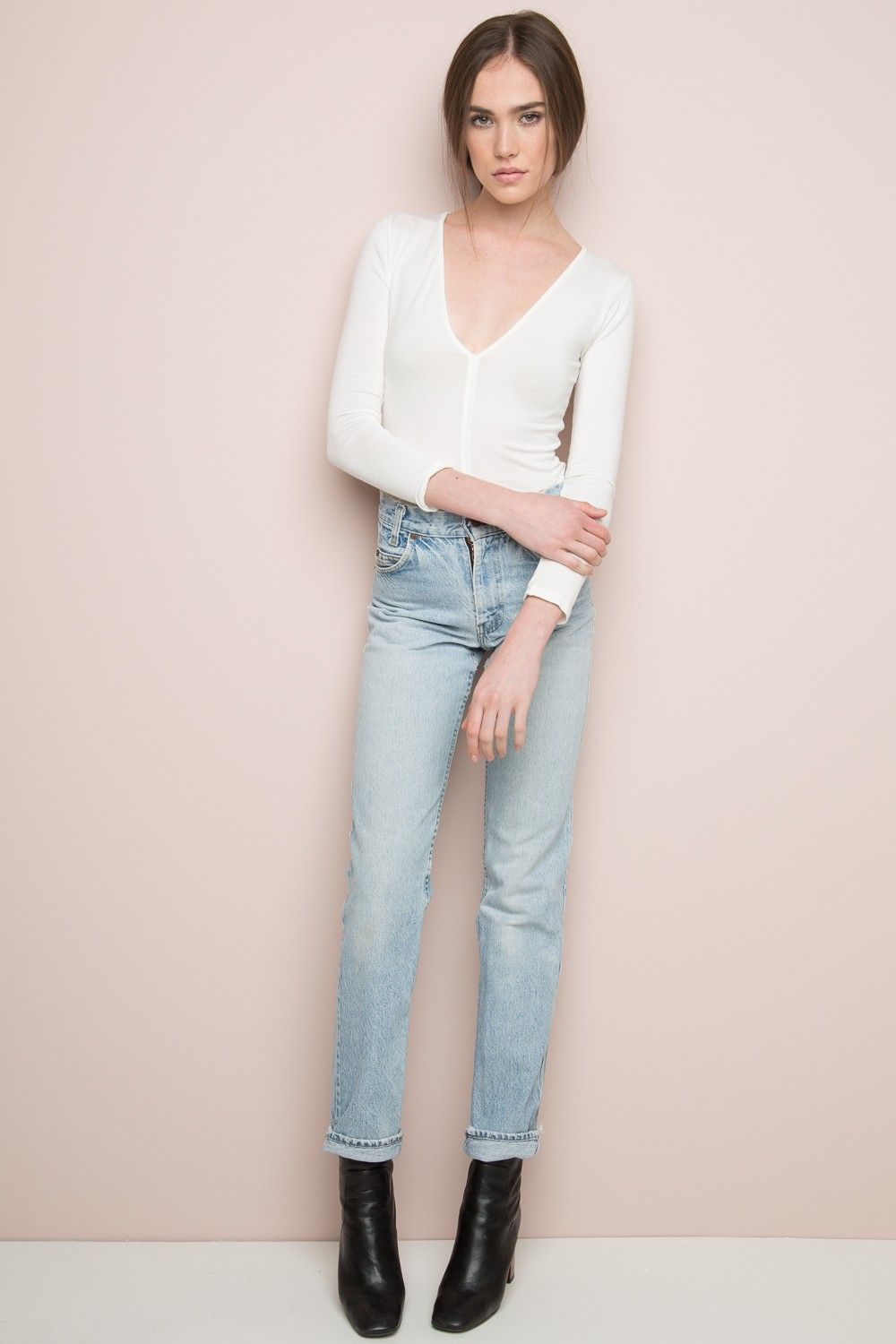 Brandy ♥ Melville | Harrison Top - Long Sleeves - Tops - Clothing