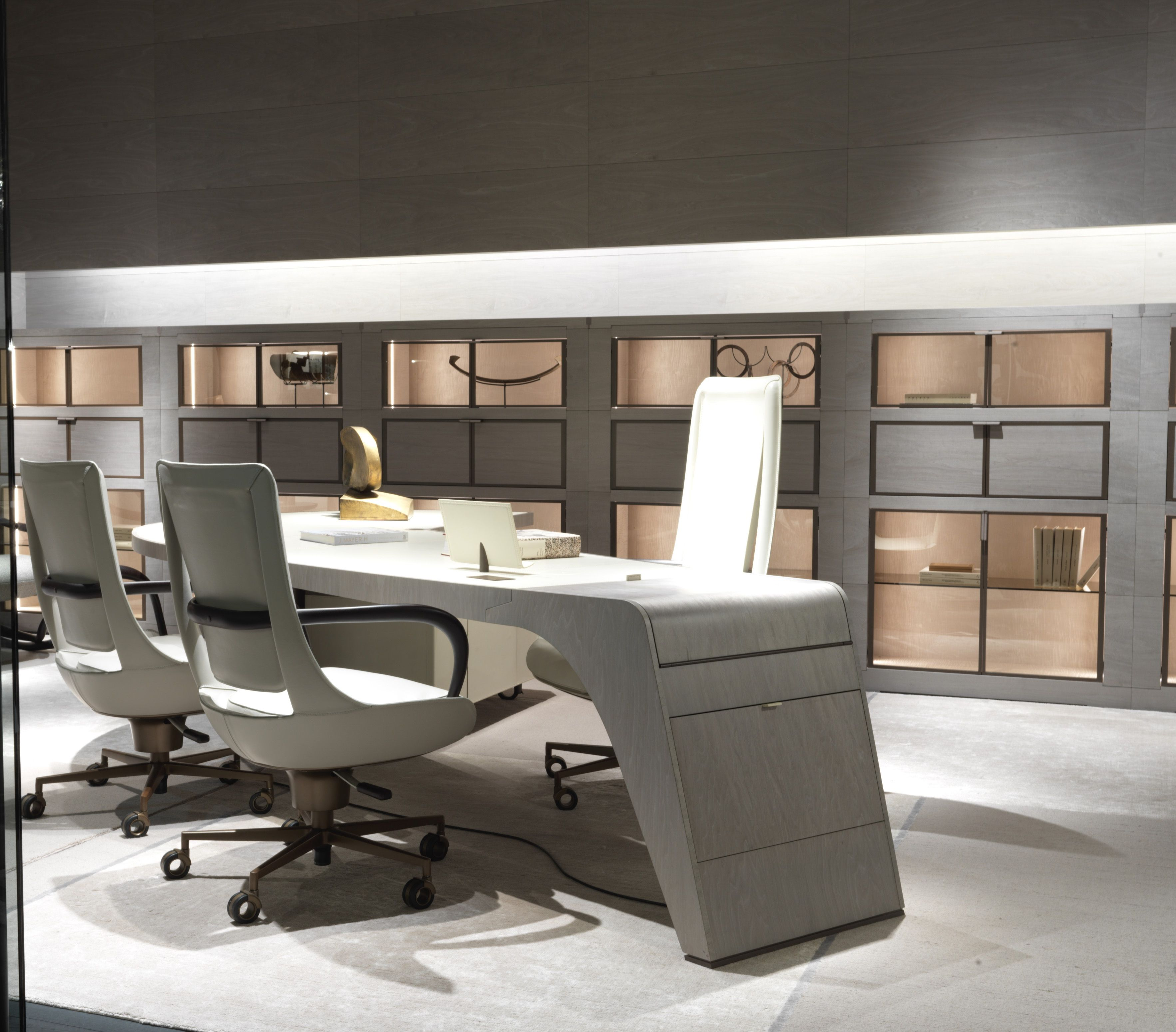 Office Area, Booth at the Salone del Mobile in