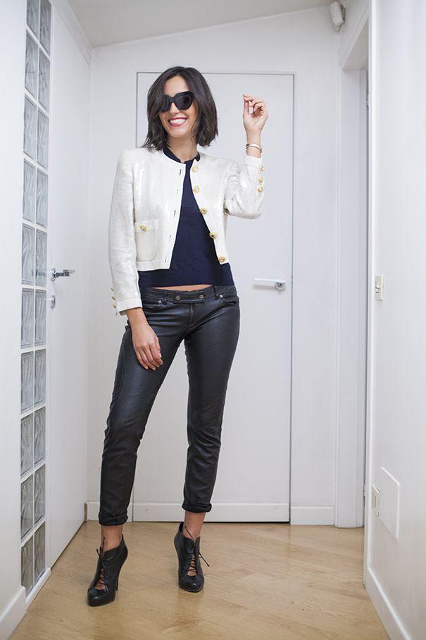 Caterina Balivo wearing a vintage Escada beaded jacket! Wardrobe update!  d558718db70