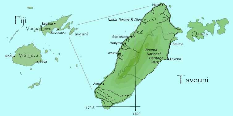 Taveuni fijis third largest island is the home of nakia resort its easy to fly to fiji gumiabroncs Choice Image
