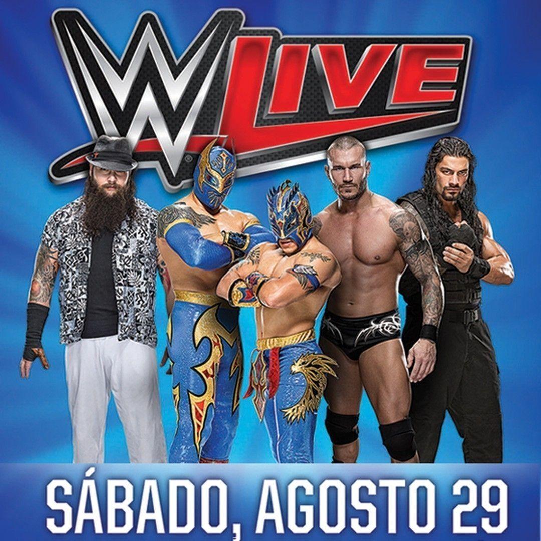 ¡¡¡ESTE SÁBADO!!! WWE LIVE! 29 de agosto en el #Coliseo de #PuertoRico. No te pierdas a #RomanReigns, #ChrisJericho, #BrayWyatt, #RandyOrton y muchos más! Boletos mientras duren en @ticketpop >> http://bit.ly/WWESanJuanPR  #READY #wrestling #sports #live #wwe #sanjuan #ticketpop #onsale #Jericho