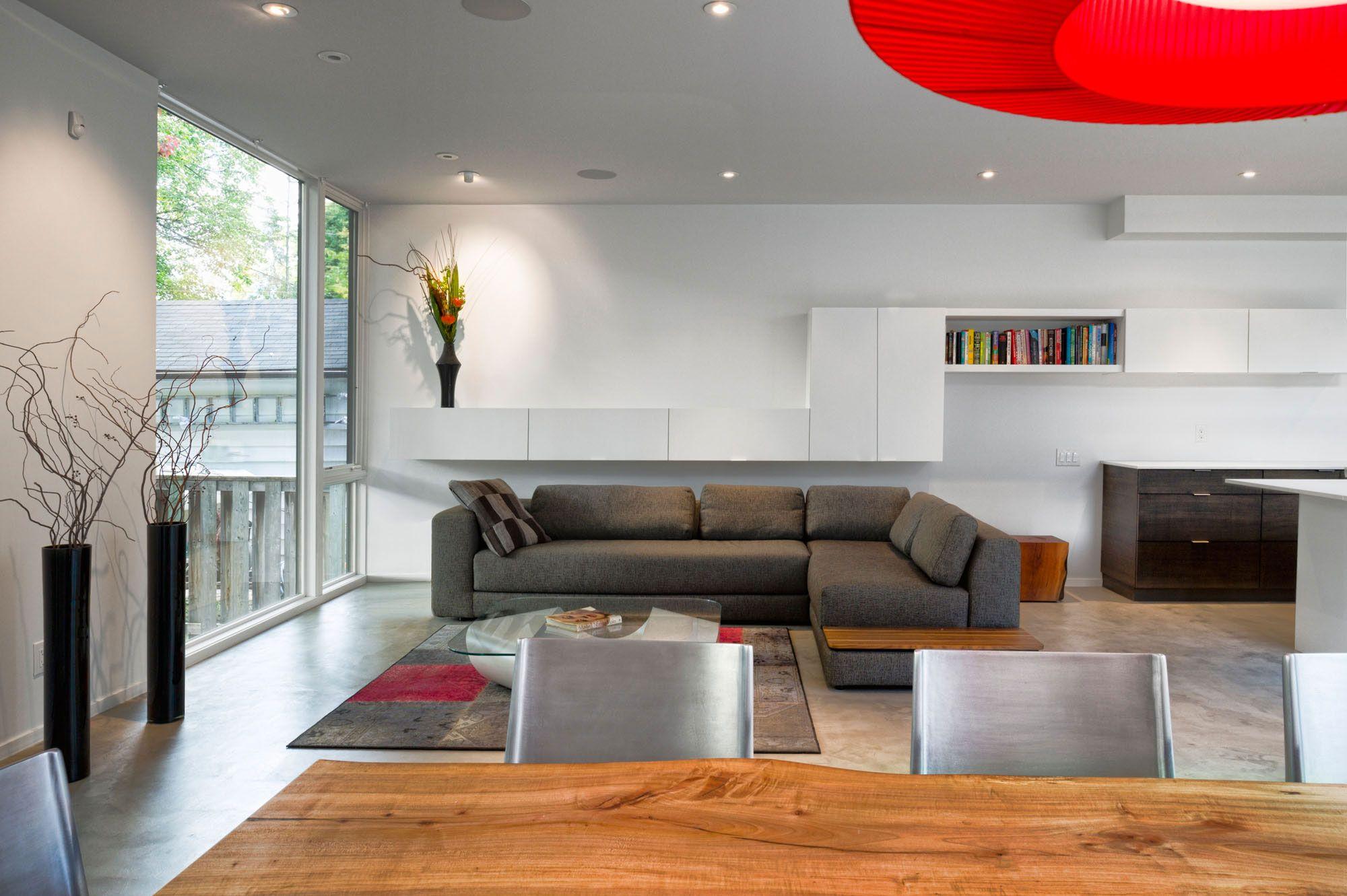 Kết Quả Hình ảnh Cho Minimalist Concrete Living Room Design Ideas