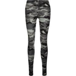 Reduzierte Sommerhosen für Damen #stripedleggings Urban Classics Camo Stripe Leggings Damen Urban ClassicsUrban Classics #stripedleggings
