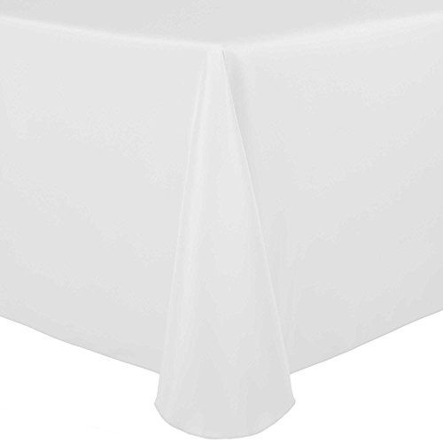 Ultimate Textile 2 Pack 60 X 84 Inch Oval Polyester Linen
