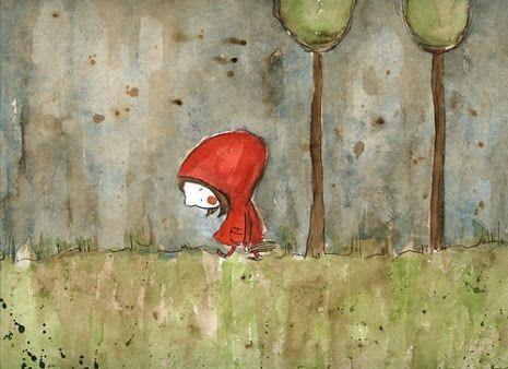 Pinzellades al món: Caputxeta Roja