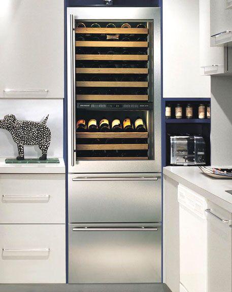 Subzero 78 bottle wine fridge and 2 refridge drawers on