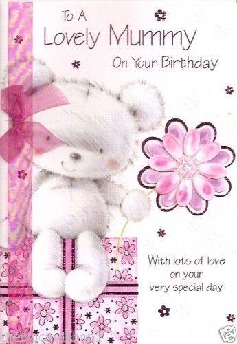Mummy birthday card colour insert birthday greeting card mum mummy birthday card colour insert birthday greeting card m4hsunfo
