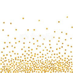 Abstract pattern of random golden dots on white background elegant for textile paper packaging and other design also rh pinterest
